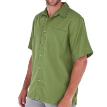 Royal Robbins Cool Mesh Shirt - Short Sleeve (For Men) in Evergreen - Closeouts