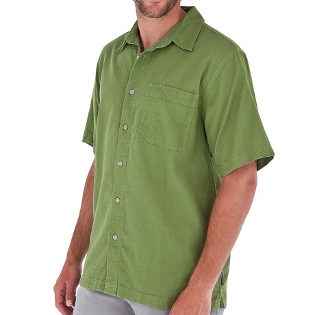 Royal Robbins Cool Mesh Shirt - Short Sleeve (For Men) in Evergreen