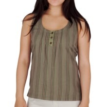 Royal Robbins Cool Mesh Stripe Tank Top (For Women) in Aloe - Closeouts