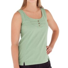 Royal Robbins Cool Mesh Tank Top - Cotton (For Women) in Agave - Closeouts