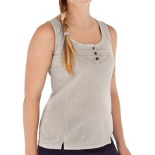 Royal Robbins Cool Mesh Tank Top - Cotton (For Women) in Soapstone - Closeouts