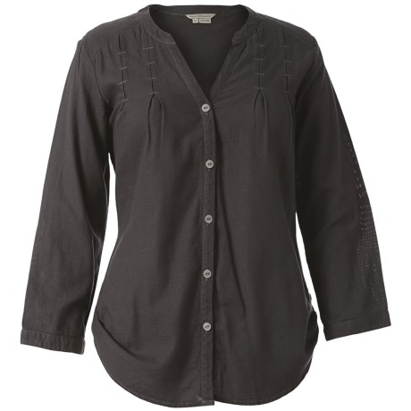 Image of Royal Robbins Cool Mesh Tunic Shirt - 3/4 Sleeve (For Women)