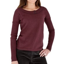 Royal Robbins Cottonwood Pullover Sweater (For Women) in Light Port - Closeouts
