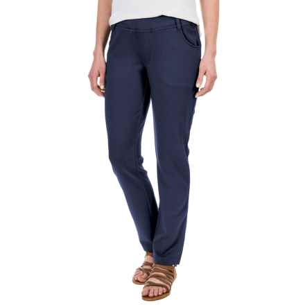 Royal Robbins Crosstown Stretch Pants - UPF 50+, Trim Fit (For Women) in Dark Indigo - Closeouts