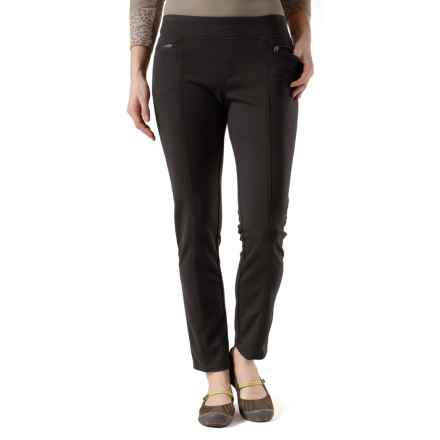 Royal Robbins Crosstown Stretch Twill Pants - UPF 50+ (For Women) in Jet Black - Closeouts