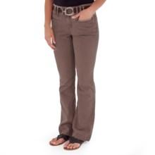 Royal Robbins Cruiser Denim Jeans - UPF 50, Bootcut Leg (For Women) in Turkish Coffee - Closeouts
