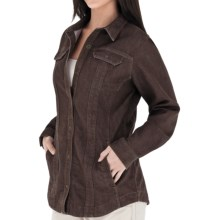 Royal Robbins Cruiser Shirt Jacket - UPF 50+ (For Women) in Turkish Coffee - Closeouts