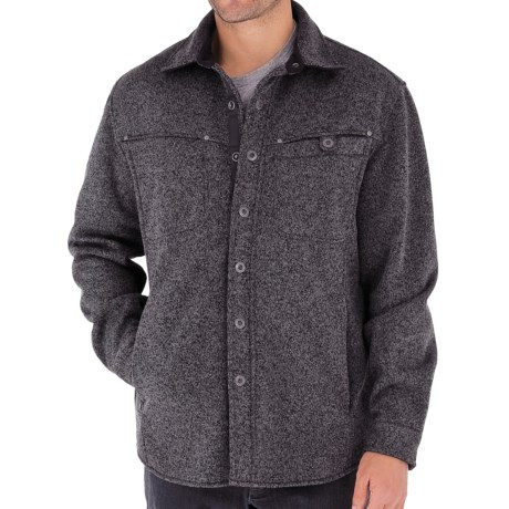 Royal Robbins Deal Shirt Jacket - UPF 50+ (For Men) in Obsideian