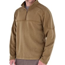 Royal Robbins Desert Knit Plus Pullover - UPF 50+, Zip Neck, Long Sleeve (For Men) in Macchiato - Closeouts