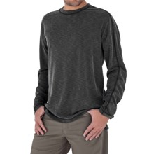 Royal Robbins Desert Knit Shirt - Long Sleeve (For Men) in Charcoal - Closeouts
