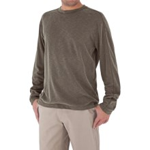 Royal Robbins Desert Knit Shirt - Long Sleeve (For Men) in Turkish Coffee - Closeouts