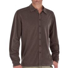 Royal Robbins Desert Knit Shirt - TENCEL®, Long Sleeve (For Men) in Espresso - Closeouts