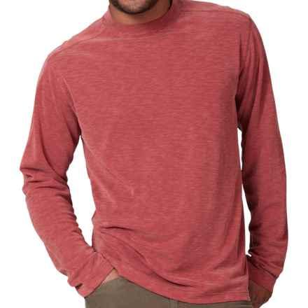 Royal Robbins Desert Knit Shirt - UPF 50+, Long Sleeve (For Men) in Dark Firecracker - Closeouts