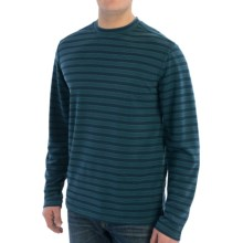 Royal Robbins Desert Knit Stripe Shirt - UPF 50+, Long Sleeve (For Men) in Dark Borealis - Closeouts