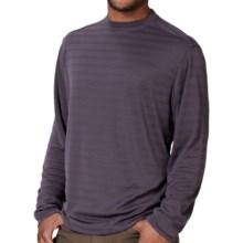 Royal Robbins Desert Knit Stripe Shirt - UPF 50+, Long Sleeve (For Men) in Dark Cosmos - Closeouts