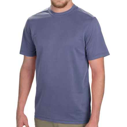 Royal Robbins Desert Knit T-Shirt - UPF 50+, Short Sleeve (For Men) in Salvia Blue - Closeouts