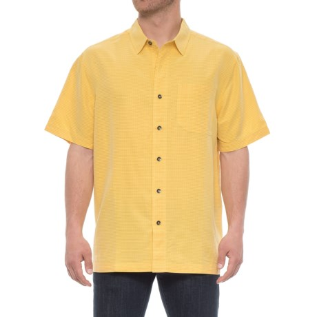 Royal Robbins Desert Pucker Shirt - UPF 25+, Short Sleeve (For Men) in Bell