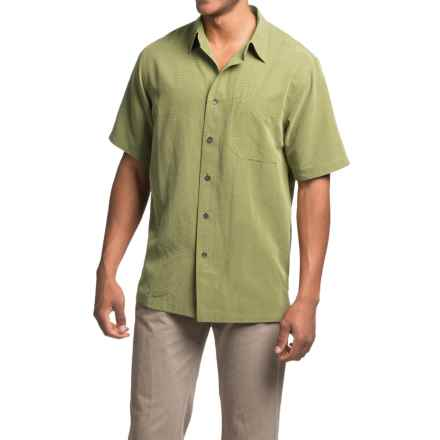 Royal Robbins Desert Pucker Shirt - UPF 25+, Short Sleeve (For Men) in Cactus - Closeouts