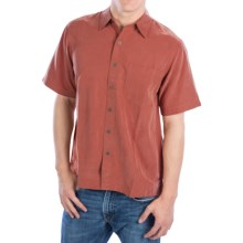 Royal Robbins Desert Pucker Shirt - UPF 25+, Short Sleeve (For Men) in Dark Ember - Closeouts
