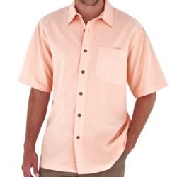 Royal Robbins Desert Pucker Shirt - UPF 25+, Short Sleeve (For Men) in Dawn