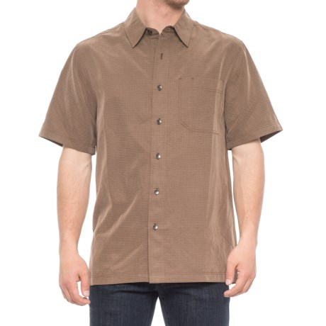Royal Robbins Desert Pucker Shirt - UPF 25+, Short Sleeve (For Men) in Desert Palm