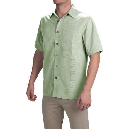 Royal Robbins Desert Pucker Shirt - UPF 25+, Short Sleeve (For Men) in Julep - Closeouts