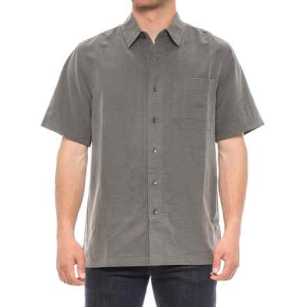 Royal Robbins Desert Pucker Shirt - UPF 25+, Short Sleeve (For Men) in Obsidian - Closeouts