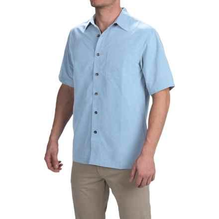 Royal Robbins Desert Pucker Shirt - UPF 25+, Short Sleeve (For Men) in Sky - Closeouts