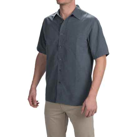 Royal Robbins Desert Pucker Shirt - UPF 25+, Short Sleeve (For Men) in Slate - Closeouts