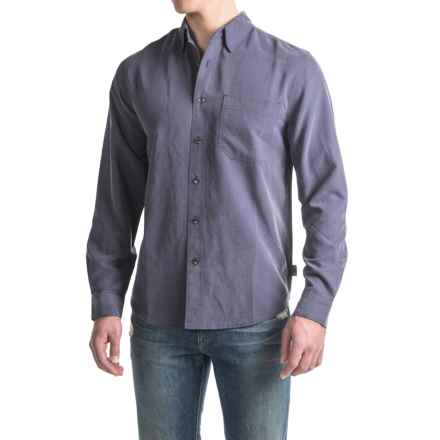 Royal Robbins Desert Pucker UPF Shirt - Sand Washed, Long Sleeve (For Men) in Graystone - Closeouts