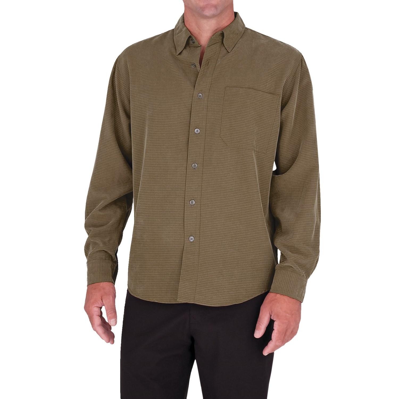 Royal robbins desert pucker upf shirt for men save 60 for Men s upf long sleeve shirt