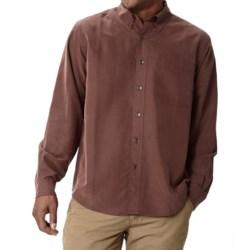 Royal Robbins Desert Pucker UPF Shirt - Sand Washed, Long Sleeve (For Men) in Merlot