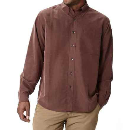 Royal Robbins Desert Pucker UPF Shirt - Sand Washed, Long Sleeve (For Men) in Merlot - Closeouts