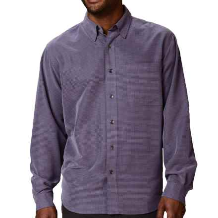 Royal Robbins Desert Pucker UPF Shirt - Sand Washed, Long Sleeve (For Men) in Thunder - Closeouts