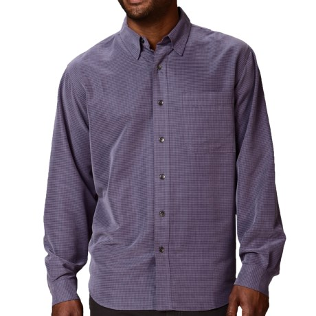 Royal Robbins Desert Pucker UPF Shirt - Sand Washed, Long Sleeve (For Men) in Thunder