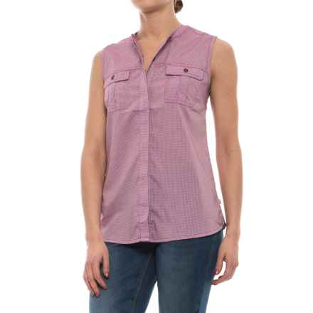 Royal Robbins Diablo Shirt - Sleeveless (For Women) in Aster - Closeouts