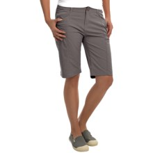 Royal Robbins Discovery Bermuda Shorts - UPF 50+ (For Women) in Charcoal - Closeouts