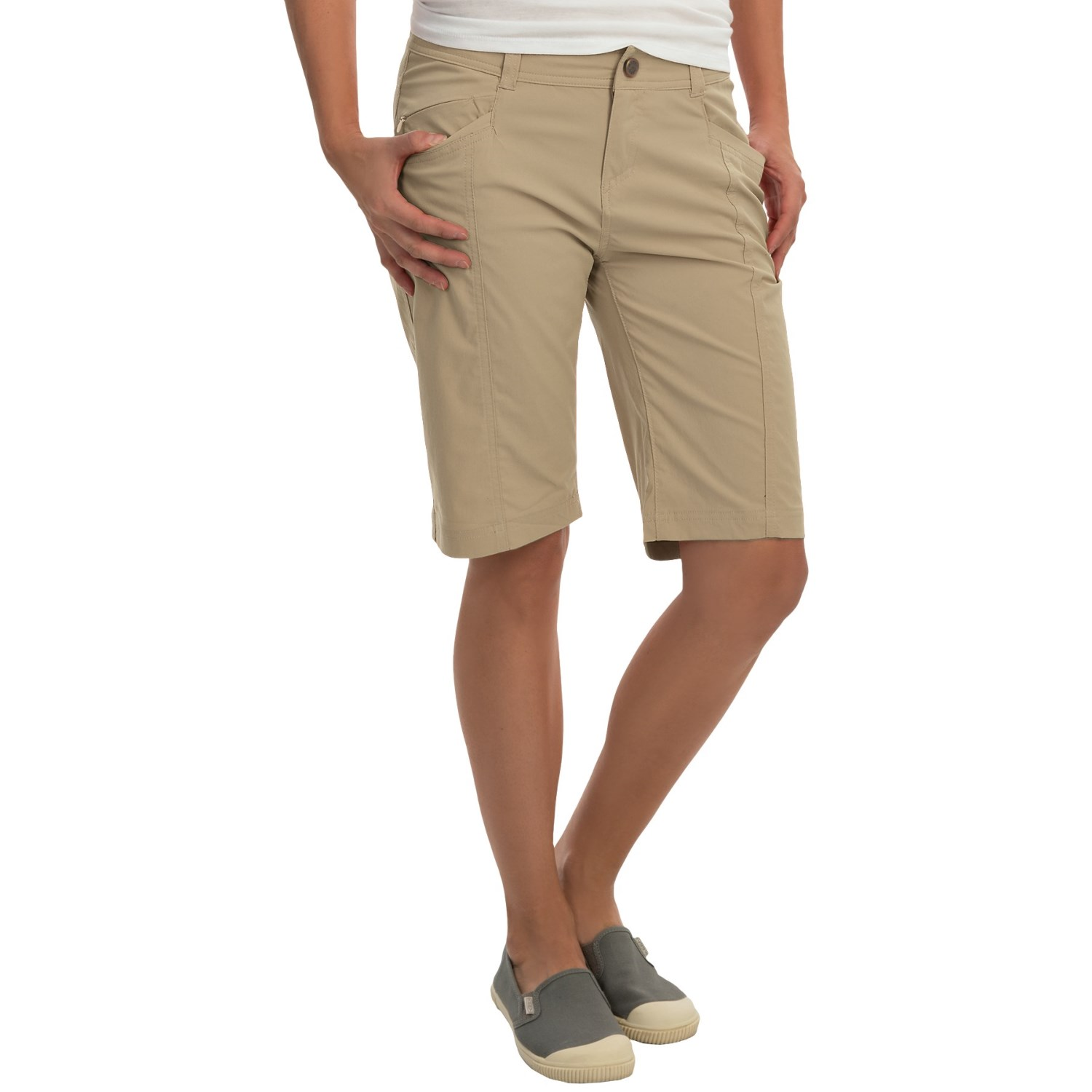 Royal Robbins Discovery Bermuda Shorts (For Women) - Save 58%