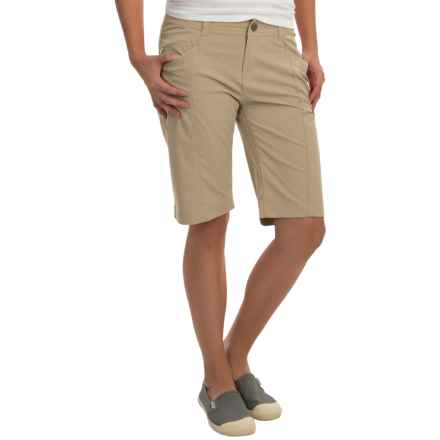 Royal Robbins Discovery Bermuda Shorts - UPF 50+ (For Women) in Khaki - Closeouts