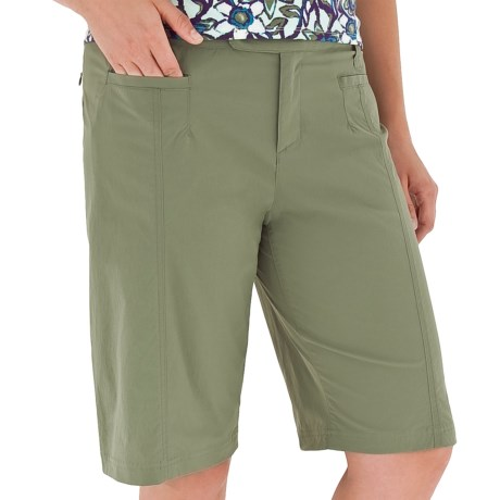 Royal Robbins Discovery Bermuda Shorts - UPF 50+, Stretch (For Women) in Canopy