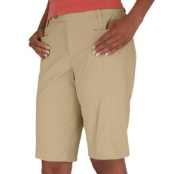 Royal Robbins Discovery Bermuda Shorts - UPF 50+, Stretch (For Women) in Light Taupe