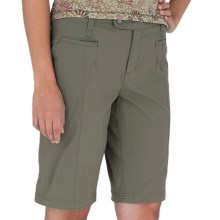 Royal Robbins Discovery Bermuda Shorts - UPF 50+, Stretch (For Women) in Everglade - Closeouts