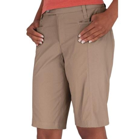 Royal Robbins Discovery Bermuda Shorts - UPF 50+, Stretch (For Women) in Khaki