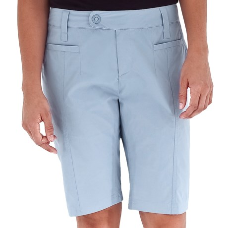 Royal Robbins Discovery Bermuda Shorts - UPF 50+, Stretch (For Women) in Pool