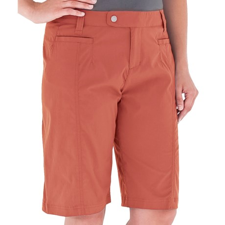 Royal Robbins Discovery Bermuda Shorts - UPF 50+, Stretch (For Women) in Santa Fe Clay