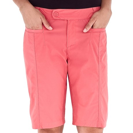 Royal Robbins Discovery Bermuda Shorts - UPF 50+, Stretch (For Women) in Wild Rose