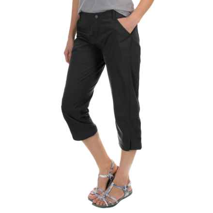 Royal Robbins Discovery Capris - UPF 50+ (For Women) in Jet Black - Closeouts