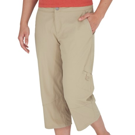 Royal Robbins Discovery Capris - UPF 50+, Stretch Nylon (For Women) in Desert