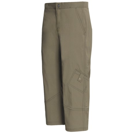 Royal Robbins Discovery Capris - UPF 50+, Stretch Nylon (For Women) in Everglade