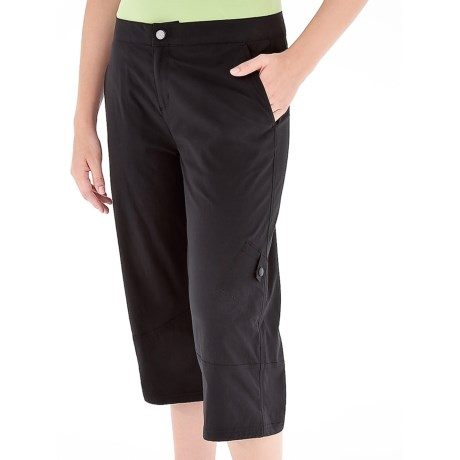Royal Robbins Discovery Capris - UPF 50+, Stretch Nylon (For Women) in Jet Black